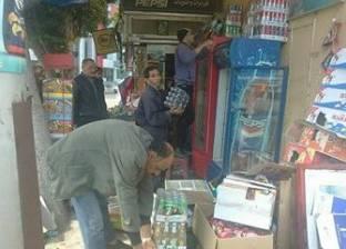 حي وسط الإسكندرية يشن حملة لإزالة الإشغالات والتعديات على حرم الطريق