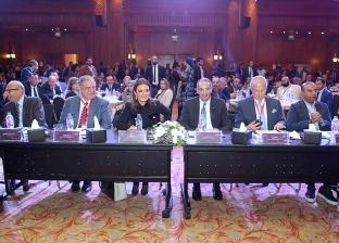 """نصر وطلعت يفتتحان مؤتمر غرفة صناعة تكنولوجيا المعلومات """"وطن رقمي 6"""""""