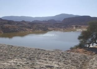 جنوب سيناء تنتهي من أعمال حماية وادي وتير بنويبع من مخاطر السيول