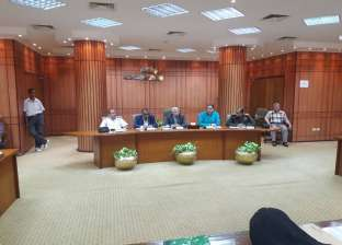لجنة تقنين أوضاع الأراضي تناقش الموقف التنفيذى لأعمالها ببورسعيد