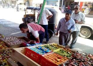 بالصور  حملة لرفع الإشغالات المخالفة من شوارع الحامول بكفر الشيخ