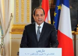 """السيسي يوافق على الاتفاق مع الوكالة الفرنسية للتنمية بشأن """"الحمأة"""""""