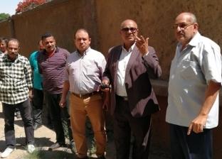 حي شمال الجيزة يتابع أعمال دهان واجهات العقارات بالطريق الدائري