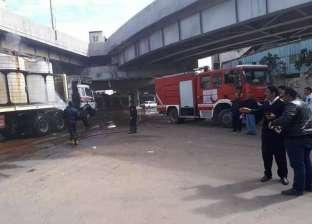 إخماد حريق في شقة بمنطقة ناهيا بكرداسة