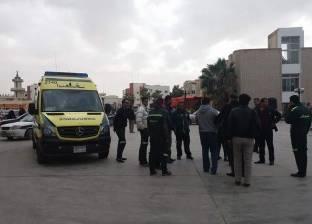بالأسماء| إصابة 4 مجندين و4 مدنيين إثر تفجير سيارة مفخخة في العريش