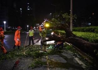 بالصور| إعصار مانكوتيصل إلى سواحل جنوب الصين وإجلاء الملايين