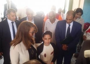 وزيرة التضامن تزور مجمع الدفاع الاجتماعي للأطفال بلا مأوى بالإسكندرية
