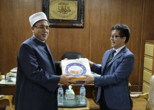 """أمين """"البحوث الإسلامية"""" يلتقي المستشار التعليمي للسفارة الصينية"""