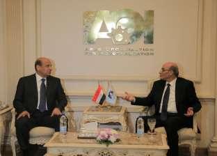 وزير الزراعة يشيد بدور الهيئة العربية للتصنيع في مجال الصوب الزراعية