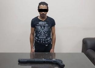 ضبط عاطل بحوزته بندقية خرطوش في المنصورة