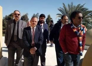 """""""قصور الثقافة"""" يتفقد أعمال إنشاءات مبنى ثقافة جمال عبدالناصر بأسيوط"""