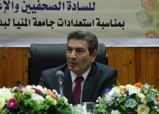 """رئيس جامعة المنيا مهنئا بانتصارات """"6 أكتوبر"""": ملحمة عسكرية تدرس للعالم"""