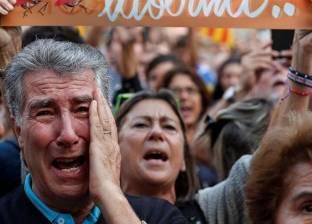 إصابة 3 خلال تظاهرات لمؤيدي ومعارضي استقلال كاتالونيا في برشلونة