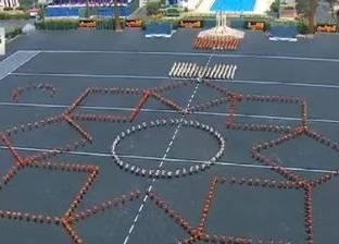 """السيسي يشهد عرض الموسيقى العسكرية في حفل تخرج الكليات بـ""""الحربية"""""""