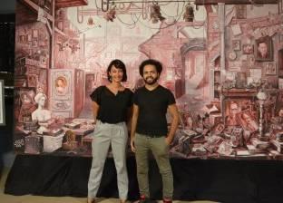 «استديو مصر».. مشروع تخرج يوثق تاريخ السينما فى لوحة