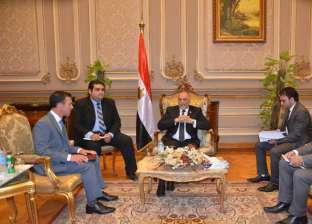 """رئيس ائتلاف """"دعم مصر"""" لوفد أمريكي: استعدنا الأمن بفضل القيادة الحكيمة"""