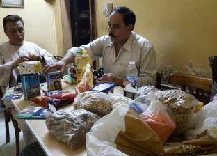 """""""من أجل شبرا الخيمة"""" توزع 800 شنطة رمضانية على الأسر الأكثر احتياجا"""