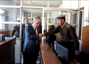 مدير أمن كفر الشيخ والقيادات يؤدون صلاة الغائب على أرواح شهداء الشرطة
