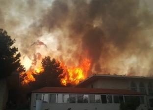 بالفيديو.. حرائق هائلة في لبنان.. وألسنة اللهب تهدد البيوت والمدارس