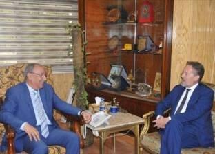 محافظ أسوان يلتقي بوفد الهيئة العامة لقصور الثقافة