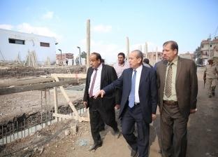 بالصور.. محافظ كفر الشيخ يقود حملة لإزالة التعديات على الأراضي
