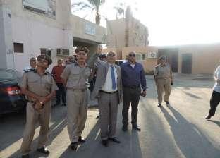 مدير أمن الفيوم يتفقد عمل قوات الحماية المدنية للتأكد من جاهزيتها