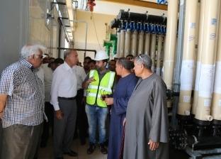 بدء ضخ المياه من محطةبخانس إلى قرى فرشوط نهاية يوليو