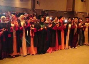 رئيس جامعة المنيا يشهد حفل تخرج طلاب كلية العلوم