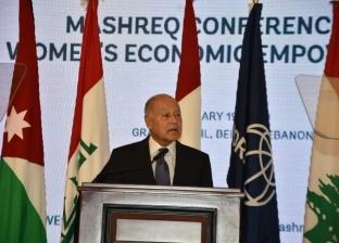 """أبو الغيط يُشارك باجتماع """"عربي - أوروبي"""" لدعم حل الدولتين"""