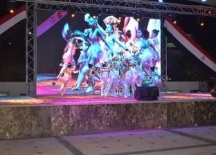 """""""البحر الأحمر"""" تحتفل بالعيد القومي بعروض فنية في """"ممشى النصر"""" بالغردقة"""