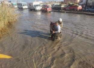 محافظ الإسكندرية يشدد على مراجعة معدات وسيارات شفط المياه