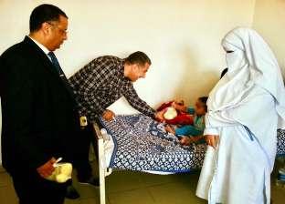 دعم مستشفى أطفال مطروح بجهاز قياس غازات الدم