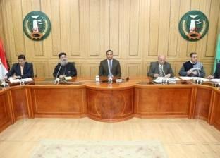 سكرتير عام المنوفية يترأس الاجتماع الأول لمجلس التخطيط الحضاري