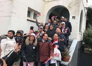 لليوم الثالث.. توافد المصريين على لجان الانتخاب في بلجراد