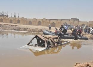 """""""الطرق والكباري"""": صيانة مخرات الطرق الرئيسية لمواجهة السيول"""