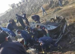"""إصابة سائق سيارة نقل في حادث اصطدام بونش """"مرور الإسكندرية"""""""
