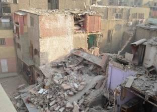 إخلاء سكان عقار حدائق القبة المنهار
