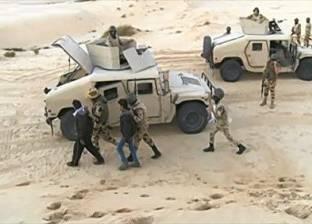 القبض على 20 مشتبها بهم غرب العريش خلال حملات أمنية