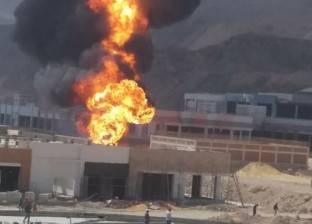 """دير """"مارمينا مريوط"""": لا خسائر بشرية في حريق اليوم"""