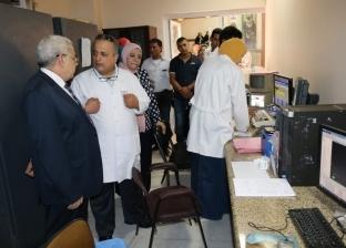 نائب رئيس جامعة طنطا يتفقد مركز علاج الأورام