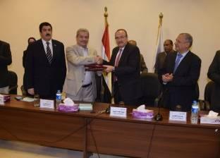 توقيع 3 بروتوكولات تعاون بين محافظة بني سويف والجامعة