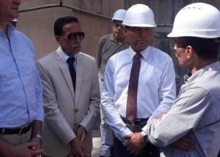 نائب محافظ القاهرة يتفقد المراحل النهائية لمحطة مترو هارون