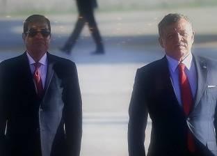 ملك الأردن يصل مطار القاهرة