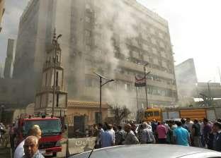 رئيس شركة الكهرباء يغادر «مؤتمر الطاقة» بعد اندلاع حريق في العباسية