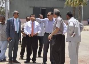 بالصور  رئيس جامعة القناة يتفقد الكلية المصرية الصينية للتكنولوجيا