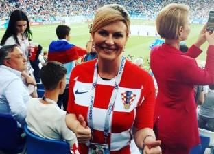 أول تعليق من رئيسة كرواتيا عقب التأهل لنهائي كأس العالم