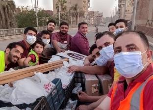 «الجدعان».. كتيبة الخير توزع 500 وجبة إفطار على أهالي مصابي قطار بنها