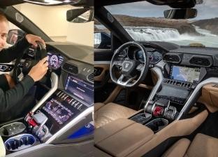 سيارة عمرو دياب