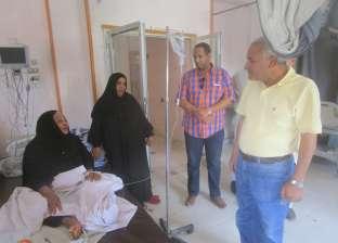 رئيس مدينة إسنا يتفقد المستشفى المركزي ويحيل المتغيبين للتحقيق