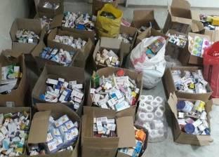 ضبط مخزن أدوية بشرية مهربة في طنطا
